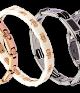 Мужской титановый магнитный браслет ELEGANT